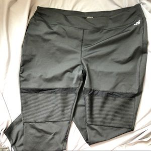 BCG Leggings with Mesh Insets 3XL Black